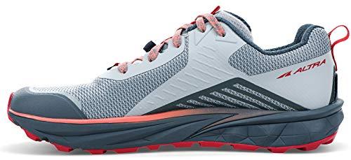 ALTRA Women's AL0A4VRB TIMP 3 Trail Running Shoe, Gray/Pink - 9.5 M US