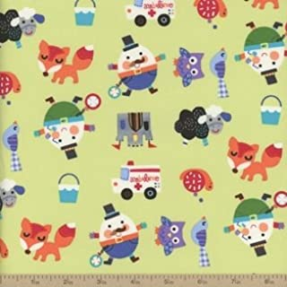 Best mother goose nursery rhymes cotton fabric Reviews