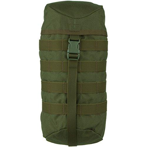 Wisport Rucksack Zubehör Tasche 5 L + inkl. E-Book | extra Taschen Rucksack | Seitentaschen | Organizer | Wanderrucksack | Cordura | Olive Green