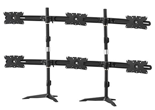 Amr6s32 hex 32' monitor mount stand