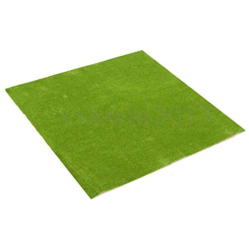 N-K 50x50cm Landschaft Grasmatte Modellbahn Kleber Papier Landschaft Layout Rasen Hohe Qualitätzuverlässig