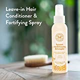 The Honest Company Sweet Orange Vanilla Conditioning Detangler Spray | Lightweight Leave-in...