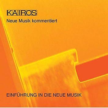 Einführung in die Neue Musik, Vol. 1