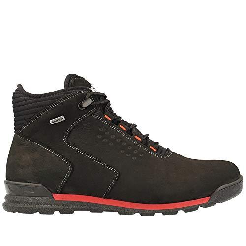 Nik Shoes - Botas de senderismo para hombre, color negro, membrana Sympatex (43 UE, negro)