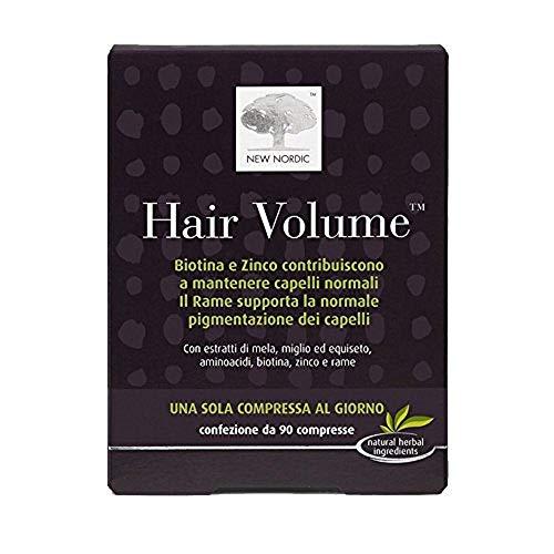 Hair Volume Integratore Alimentare per i Capelli - 90 Compresse