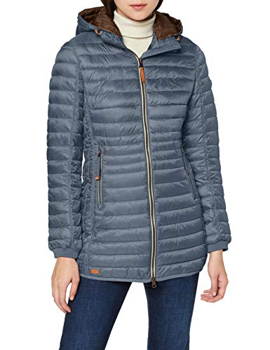 camel active Womenswear Damen 2X44 Jacke, Blau (Blue 41), (Herstellergröße:48)