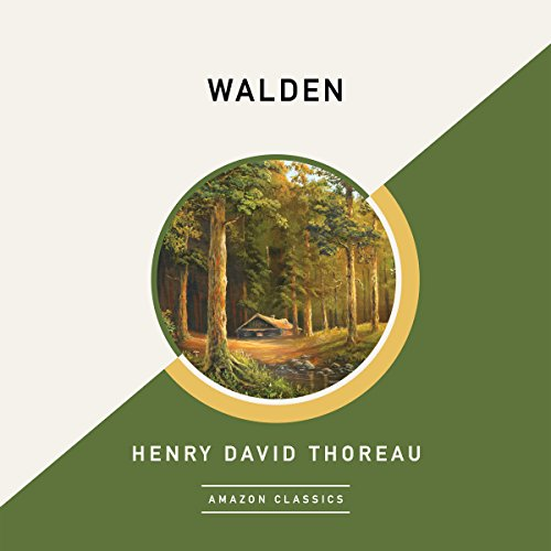 Walden (AmazonClassics Edition) audiobook cover art