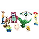 9 PCS Toy Story Cake Toppers mini Figurines Cupcake Decorations Cute Premium Toy Story Party Figurines Cartoon Action Figures Toy Story Party Supplies