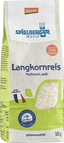 Spielberger Bio Langkornreis, Thaibonnet, weiß, demeter (6 x 500 gr)