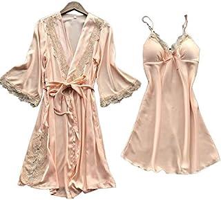 Satin sleepwear set for women