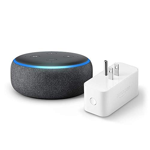 Echo Dot 3rd Gen bundle with Amazon Smart Plug for 23.99