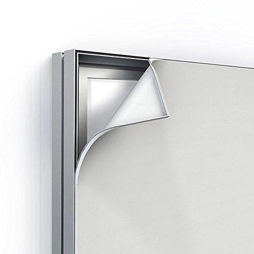 Klemp - Aufhängen Doppelseitig Alu Profil Textilspannrahmen der Beste Weg, um für Ihr Unternehmen zu Werb. 80 mm