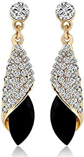 1b285135e Shining Diva Fashion High Quality AAA 18k Gold Plated Crystal Stylish Fancy  Party Wear Earrings For
