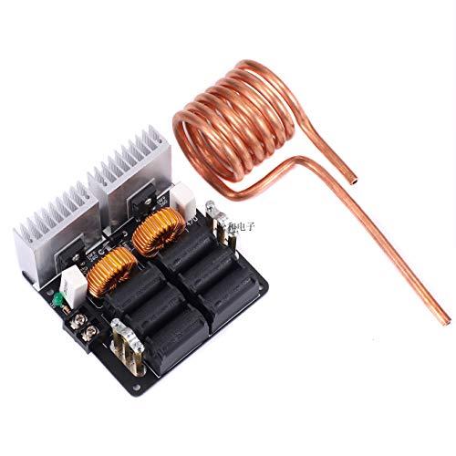 Teyleten Robot 1000W 20A ZVS Low Voltage Induction Heating Board Module Tesla with Coil 12V-48V Flyback Driver Heater DIY