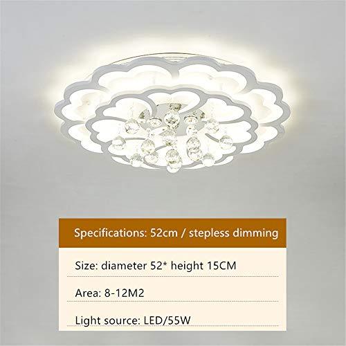 LED acryl plafondlamp woonkamer schijnwerper kristal licht luxe eenvoudige moderne sfeer ronde verlichting slaapkamer plafondlamp