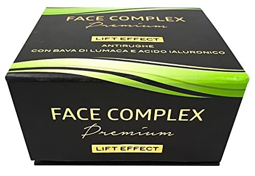 Crema Antiarrugas Premium Lift Effect con baba de caracol y ácido hialurónico