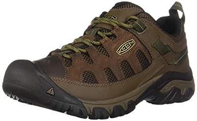 KEEN Men's Targhee Vent Hiking Shoe, Cuban/Antique Bronze, 11 M US