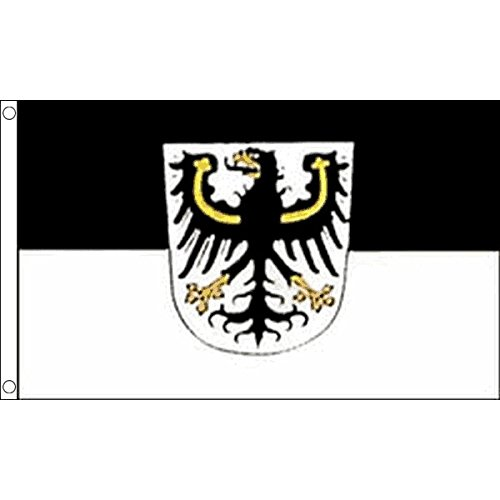 AZ FLAG Flagge OSTPREUßEN 90x60cm - OSTPREUSSEN Fahne 60 x 90 cm - flaggen Top Qualität