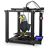Creality Ender 5 Pro 3D Printer, New Upgrade Desktop 3D Printer Kits with Capricorn Bowden PTFE Tube and Mute Mainboard for Home and School Users, Creality Ender 5 Series 220x220x300mm