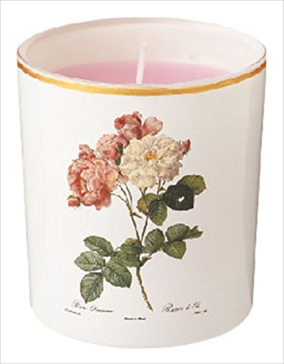 落ち着いたゴール快適カメヤマキャンドル(kameyama candle) ルドゥーテ グラスキャンドル 「 クラシックローズ 」