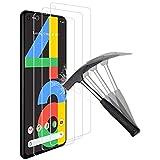ANEWSIR Cristal Templado para Google Pixel 4A,Google Pixel 4A Protector de Pantalla,Google Pixel 4A Vidrio Templado,[9H Dureza] [HD Film] [Resistente a rayones] [Fácil de Instalar] - [3 Pack]