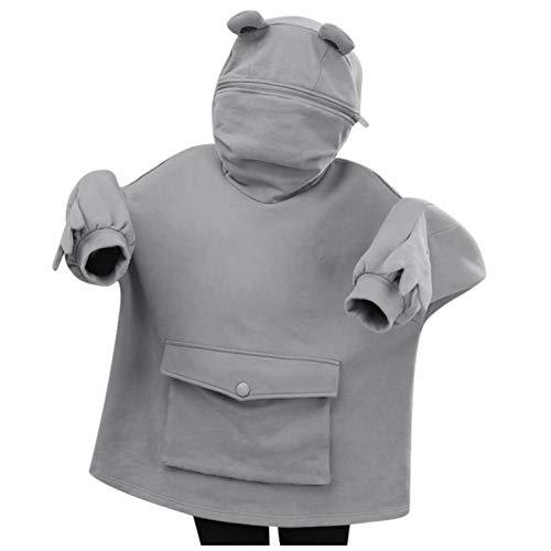 Syliababy Kapuzenpulli Junge Mädchen 3D Cartoon Pullover Hoodie Pulli Sweatshirt...