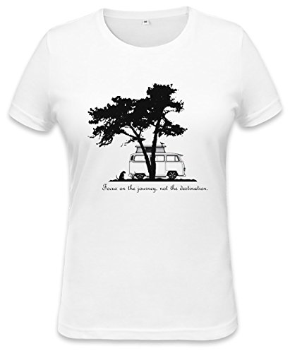Focus on the Journey Womens T-shirt X-Large