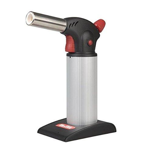 IBILI Gasbrenner Professional, Kunststoff, schwarz/Silber/rot, 5 x 5 x 10 cm