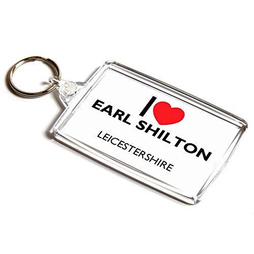 KEYRING - I Love Earl Shilton - Leicestershire
