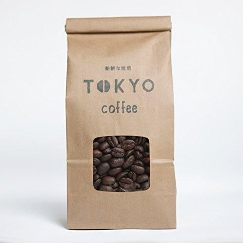 TOKYOCOFFEE東京コーヒーオーガニックブレンド自家焙煎コーヒーコーヒー豆(豆のまま200g(工房直送))