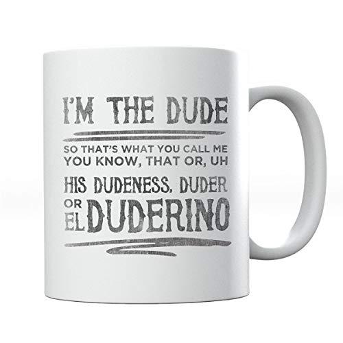 The Big Lebowski Dude Quote Mug