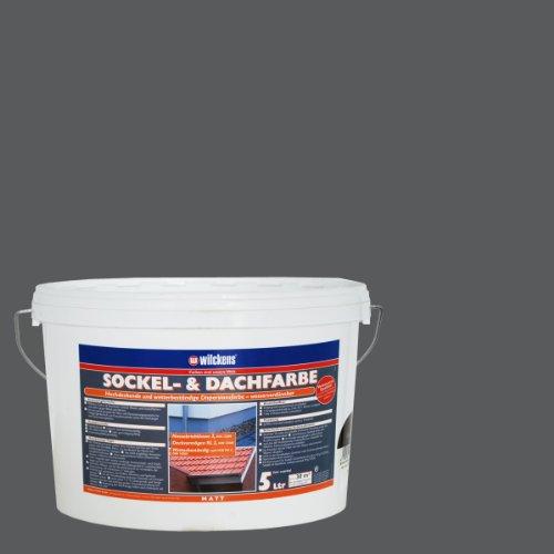 Wilckens Sockel- & Dachfarbe Schiefer 5 Liter