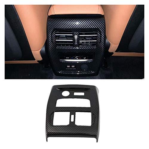 furong Fibra DE Carbono Aire Aire ACONDICIONADOR DE VENTILACIÓN DE Ventilador DE Venta DE Ventilador DE VENTILACIÓN Ajuste para-BMW 3 Series G20 G21 G28 2019 2020 (Color Name : Carbon Fiber Pattern)
