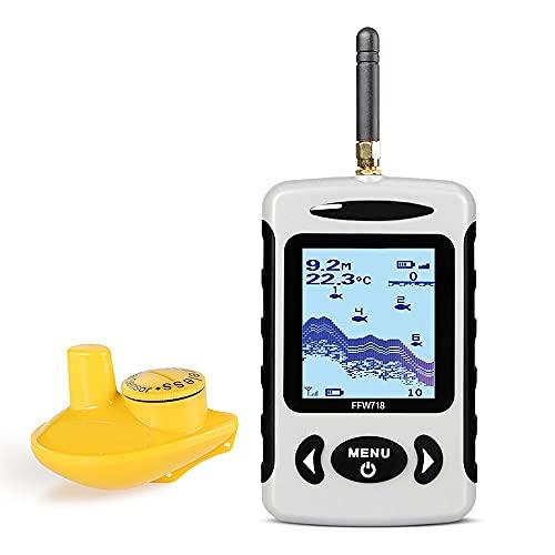 Y/X Buscador de peces, Dispositivo inalámbrico de pesca de sonar, Detector de alta definición subacuático, Teléfono móvil Ultrasónico de búsqueda de peces Sonar Pesca/hielo Pesca/pesca en barco