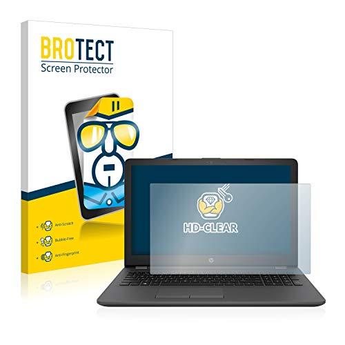 BROTECT Schutzfolie kompatibel mit HP 255 G6 klare Bildschirmschutz-Folie