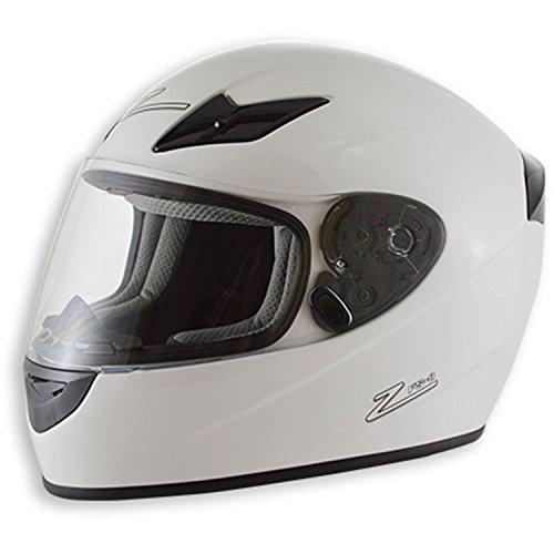 Zamp FS-8 Snell M2015 / DOT Helmet White Large