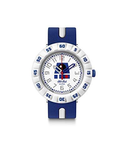 Flik Flak Unisex Analog Schweizer Quarz Uhr mit Kunststoff Armband FFLP006