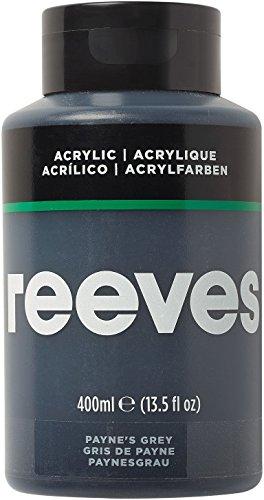 Reeves - Pintura acrílica 400 ml, Gris de Payne
