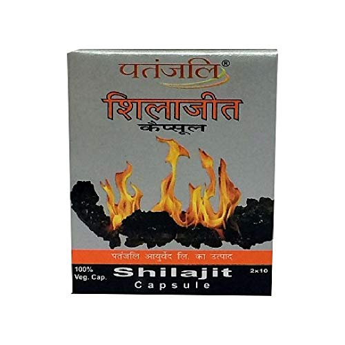 Patanjali Ayurveda Shilajit 20 Capsules (Pack of 2) by The MG Shop