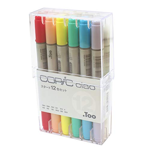 Copic Ciao Start 12Color Set