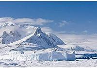 新しい南極大陸の背景7x5ft冬の氷山の写真の背景南極海氷結旅行撮影遠征雪山荒野の写真アドベンチャーアクティビティ背景小道具