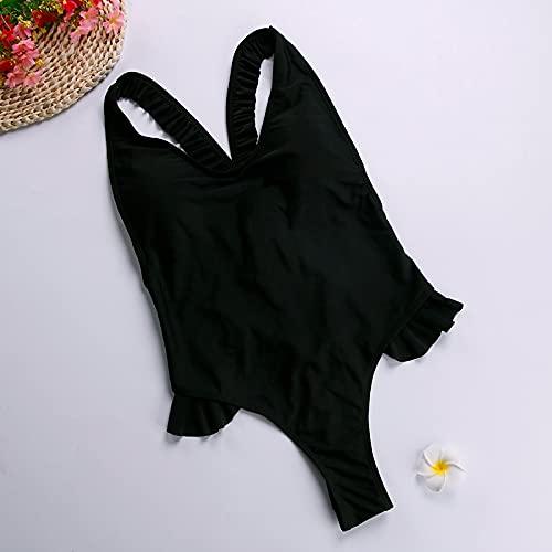 Señoras Traje Baño Bikini Traje De Baño De Corte Alto Traje De Baño para Mujer Bikini Brasileño Tanga Biquinis Feminino Monokini Mujer Traje De Baño T