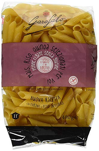 Garofalo - Special BOX - Pasta Sin Gluten - PENNE RIGATE (800Gr) + MAFALDA CORTA (800Gr)