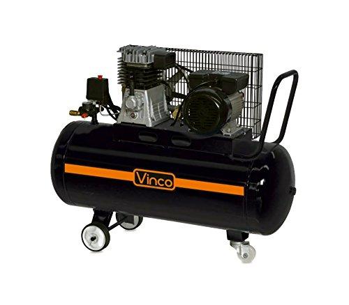 Compressore trasmissione a cinghia 100 LT Vinco 60604 monofase 8bar 250 l/m. MEDIA WAVE store ®