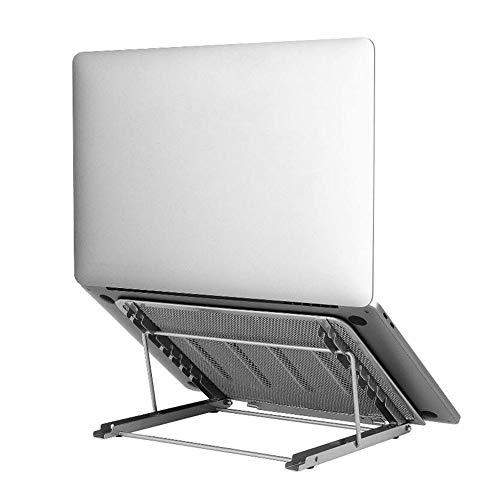 ZLASS Notebook computer stand, adjustable laptop desktop computer stand with ventilation holes, suitable for all 10-15 inch laptop notebook/tablet computers