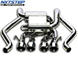 NXTSTEP PERFORMANCE Axle Back Exhaust compatible with 2005-2008 C6 Chevy Corvette EX3033