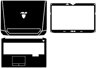 Waterproof Special Laptop Red Carbon fiber Vinyl Skin Stickrs Cover guard for ASUS G750 G750JM G750JZ G750JX G750JS G750JH 17.3-inch