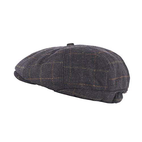 Heritage Traditions Blue Tweed Peaky Blinder Cap Hat