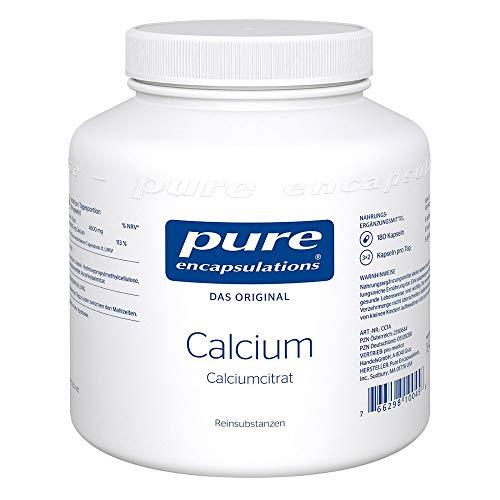pure encapsulations Calcium Kapseln, 180 St. Kapseln