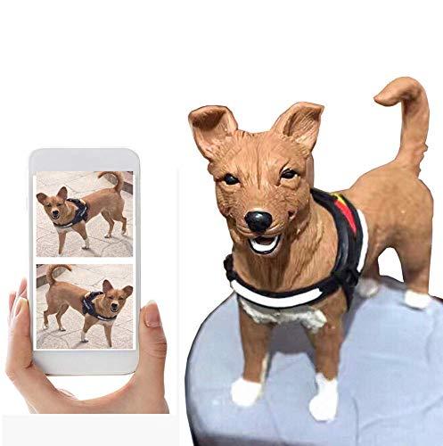 Custom Animal Bobblehead Figurines Pet Portrait Based On Customer's Photos,DHL Expedited Shipping...